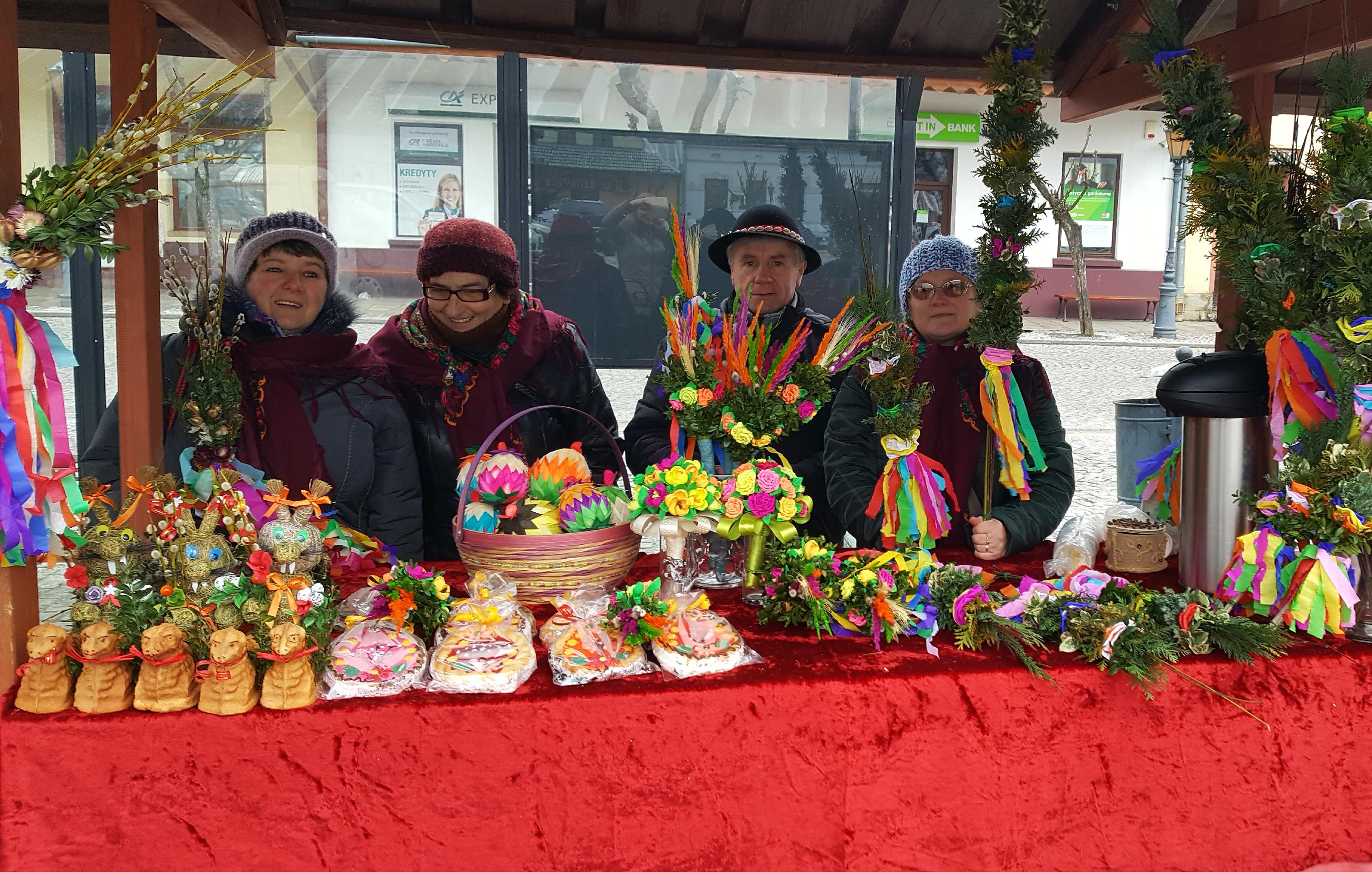 II Kiermasz Wielkanocny - 17.03.2018 Rynek Stary Sącz