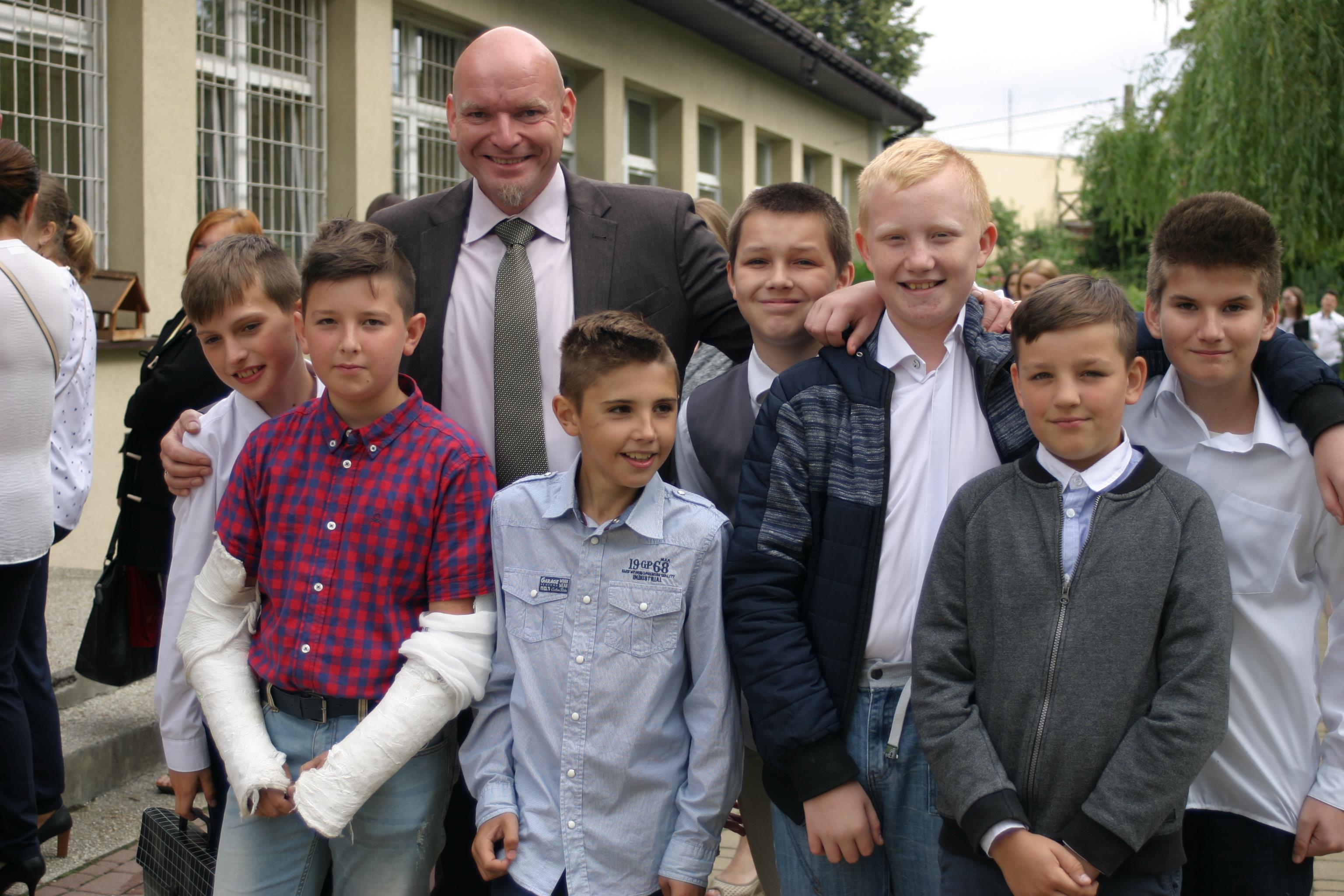 Zakończenie roku szkolnego w Szkole Podstawowej nr 1 w Starym Sączu