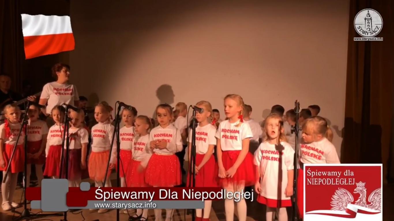Śpiewamy Dla Niepodległej - Stary Sącz 11.11.2018