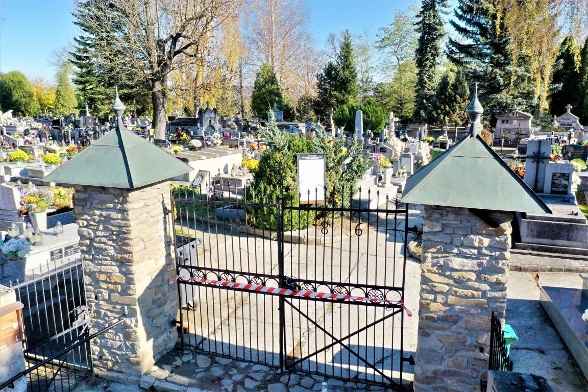 Starosądeckie Cmentarze 1.01.2020