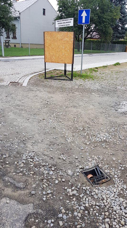 FOTOINTERWENCJA - odcinek ulicy Kazimierza Wielkiego!
