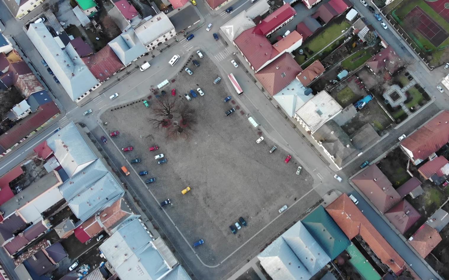 Stary Sącz z lotu Ptaka - filmy jakości 4K