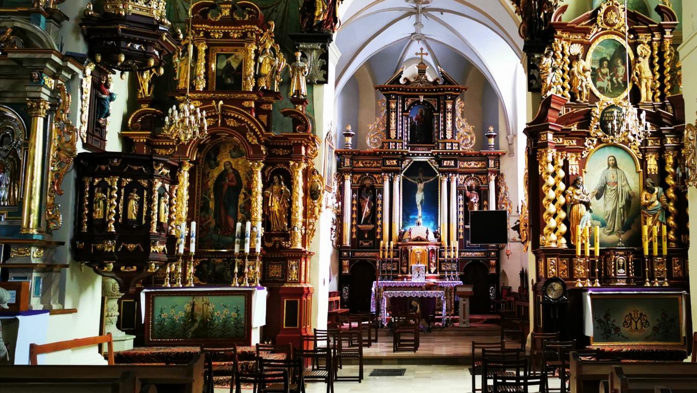 Msza Święta w Kościele Św Elżbiety w Starym Sączu - niedziela 22 marca 2020