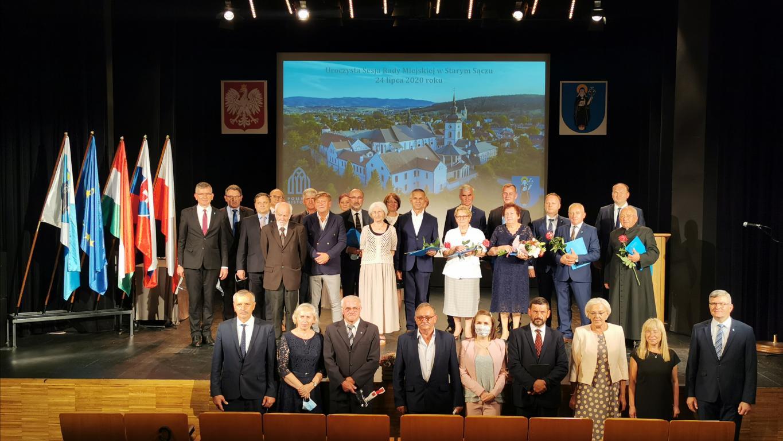 Honorowe Odznaki Starego Sącza, Stypendyści Burmistrza Starego Sącza  - XXV uroczysta Sesja Rady Miejskiej w Starym Sączu