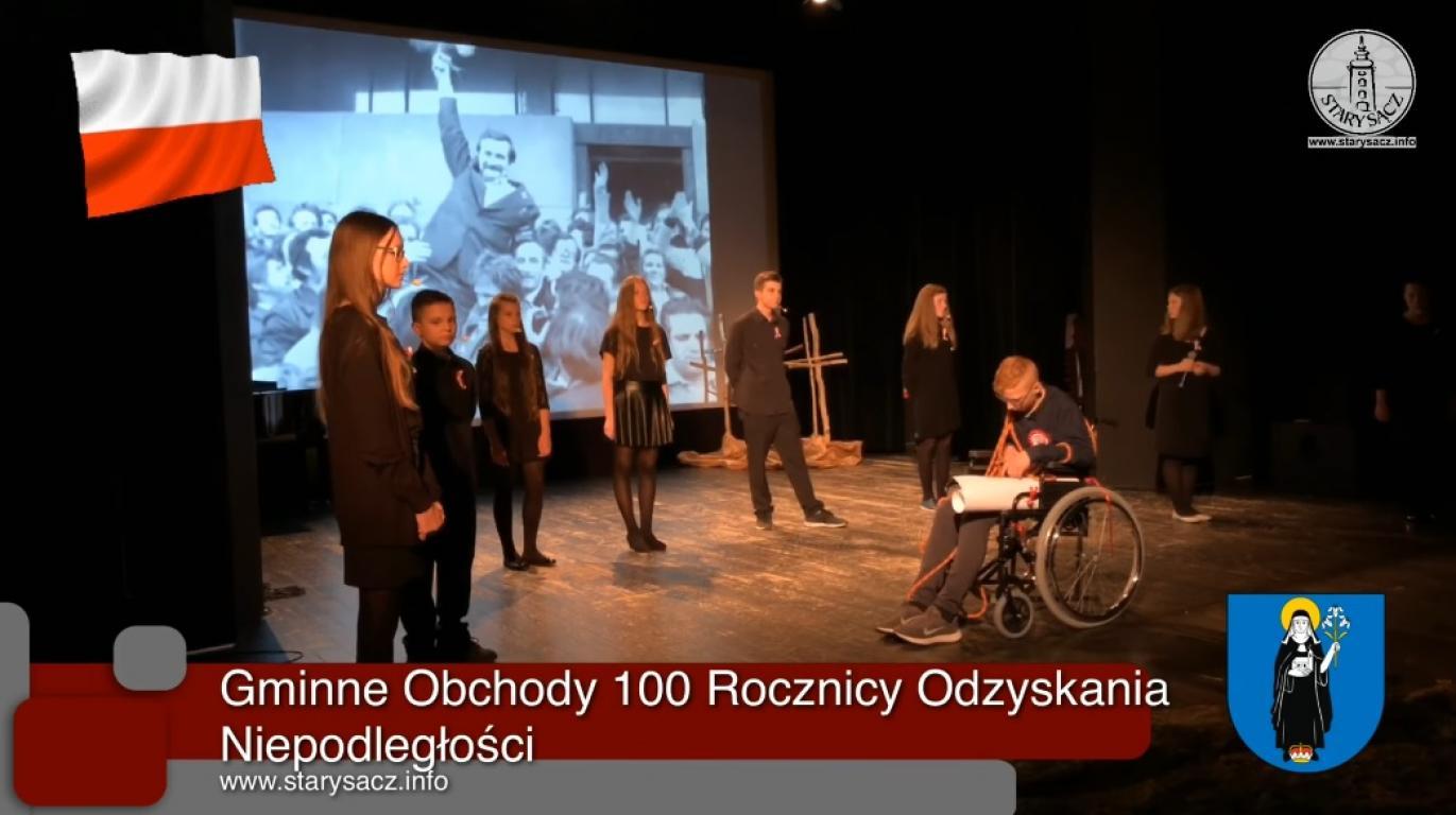 Gminne Obchody 100 Rocznicy Odzyskania Niepodległości  -Sokół - 11.11.2018