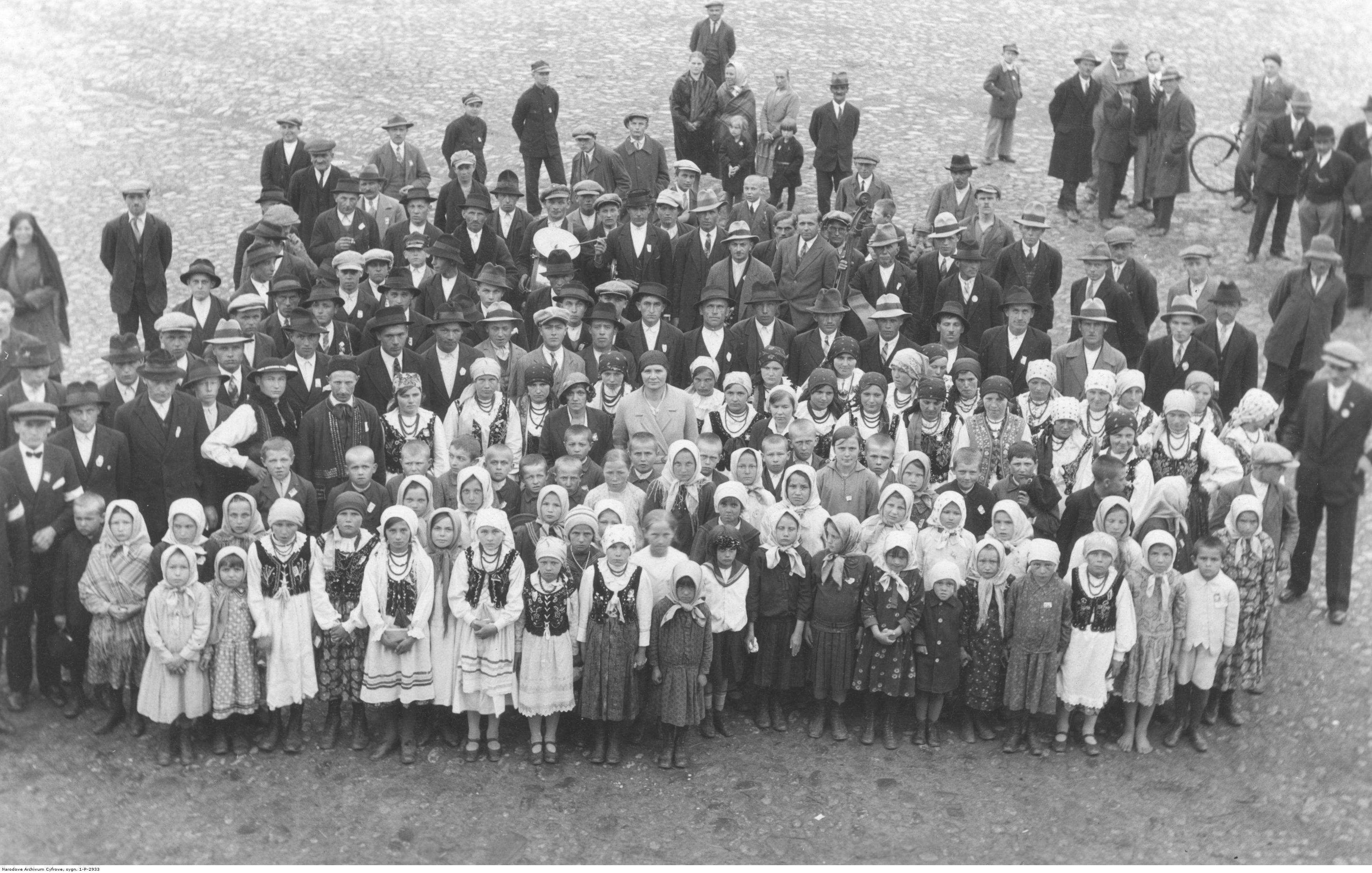Moszczenica Niżna - 3 maj 1932