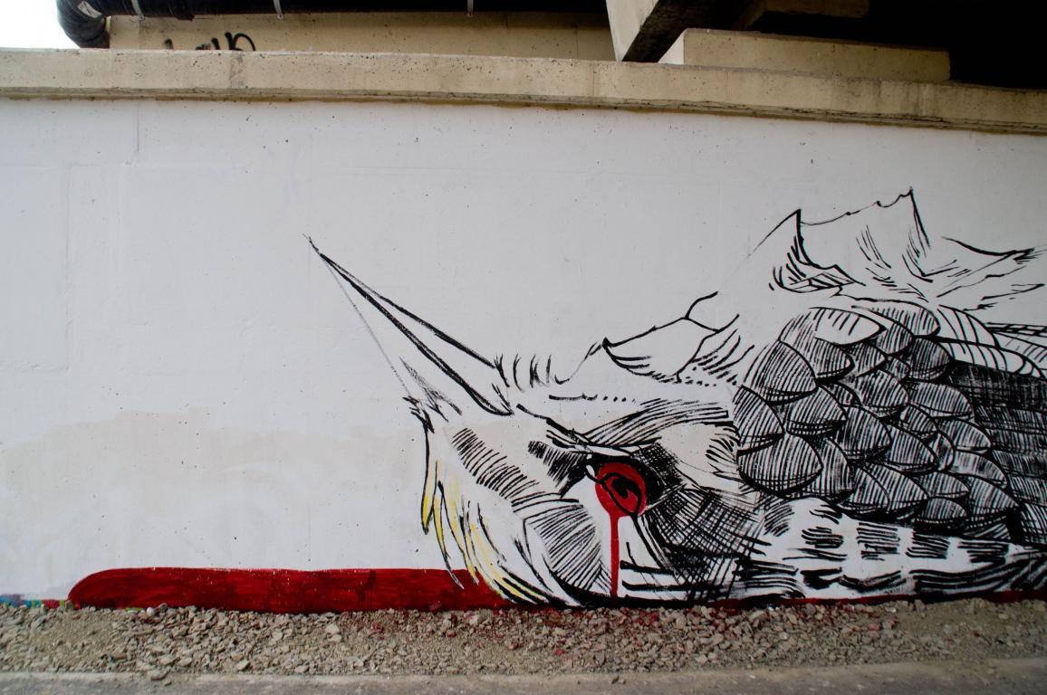 Ekologiczny mural nad Dunajcem !!!