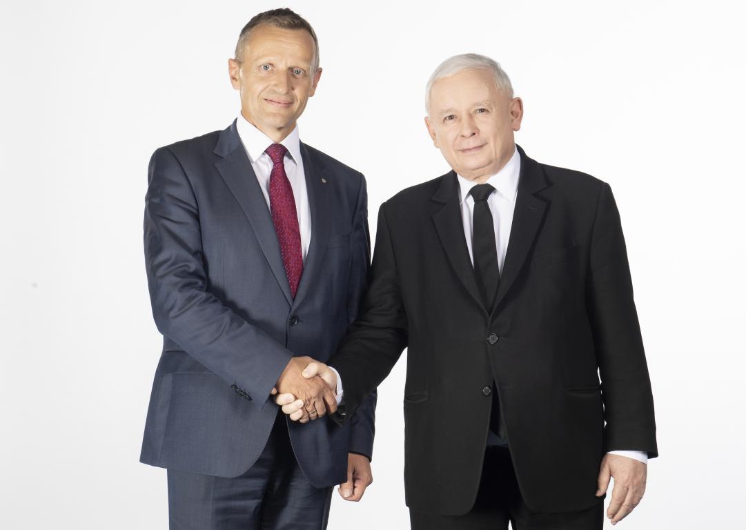 Dla dobra Polski jak i naszego regionu  Józef Leśniak (lista nr 2, poz. 6)