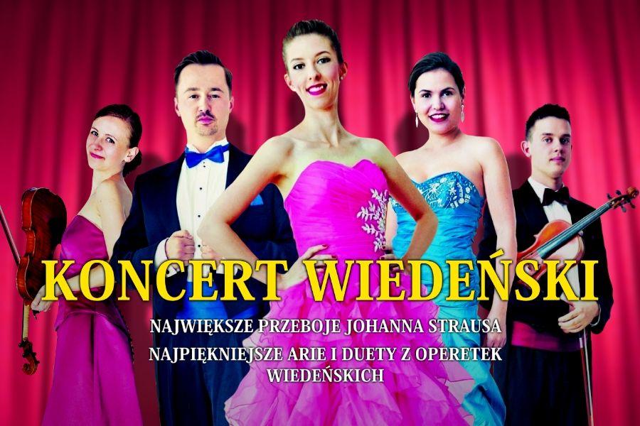 Koncert Wiedeński w Nowym Sączu - Najpiękniejsze Arie i Duety z Operetek Wiedeńskich