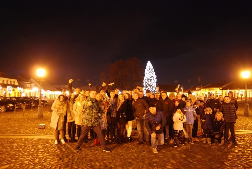 Powitanie Nowego Roku - Stary Sącz Rynek 2017/2018 Tak się bawi Stary Sącz