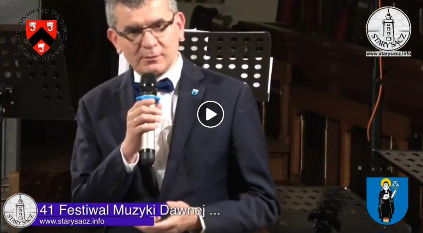 41. Starosądecki Festiwal Muzyki Dawnej