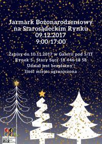 Jarmark Bożonarodzeniowy na Starosądeckim rynku