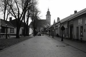 Stary Sącz dawniej i dziś - ulica Kazimierza Wielkiego
