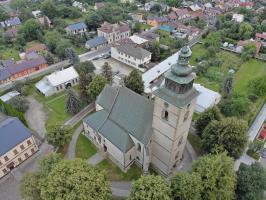 Kościół Świętej Elżbiety - z lotu Ptaka