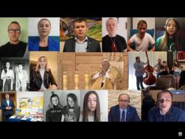 BARKA W HOŁDZIE JANOWI PAWŁOWI II Z OKAZJI 100 ROCZNICY URODZIN – HUFIEC PRACY 6-34 STARY SĄCZ