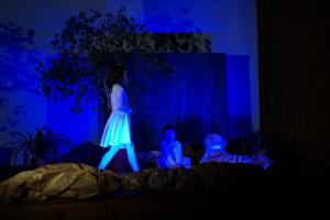 Spotkanie Wigilijne Dziewczęcej Służby Maryjnej - Parafia Św. Elżbiety w Starym Sączu