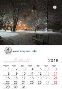 20 kalendarzy do rozdania dla pierwszych 20 osób i dla każdego prezent niespodzianka - do 31.12.2017