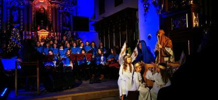 Koncert Kolęd w Parafii św. Elżbiety w Starym Sączu 31.01.2021