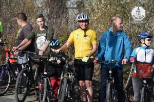 Otwarcie kładki rowerowej nad Popradem Stary Sącz - Nowy Sącz