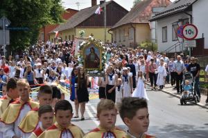 Boże Ciało w Starym Sączu  - zdjęcia i video...