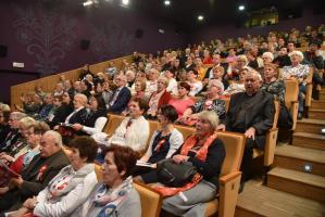 Wspólne śpiewanie pieśni legionowych i niepodległościowych - Kino Sokół Stary Sącz 11.11.2019