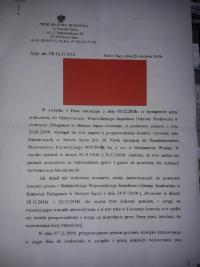 Wytwórnia mas bitumicznych Machnik pod znakiem zapytania - mamy pismo z prokuratury !!!