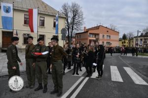 Obchody 101 Rocznicy Odzyskania Niepodległości w Starym Sączu.
