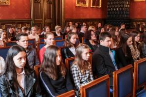 SP 1 Stary Sącz na Uniwersytecie Jagiellońskim.