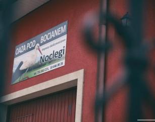 Noclegi - Oaza pod Bocianem